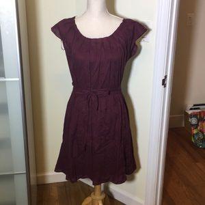 Sale...Lauren Conrad wine colored dress size M NWT